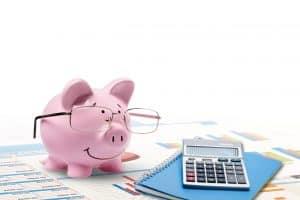 Loans, business concept, fountain pen.