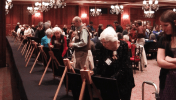 art therapy, nursing homes, Opening Minds Through Art